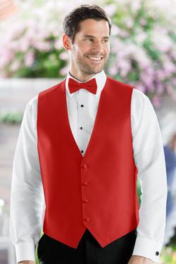 Herringbone Ruby Vest