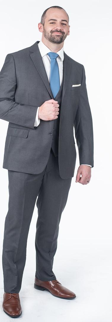 Steel Grey Suit