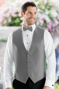 Herringbone Platinum Vest