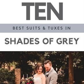 Top Ten Grey Menswear Look