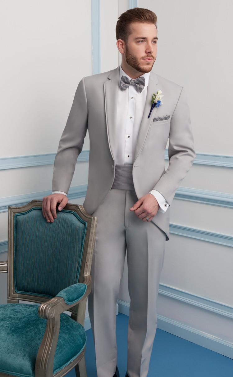 Cement Grey Cutaway Tuxedo