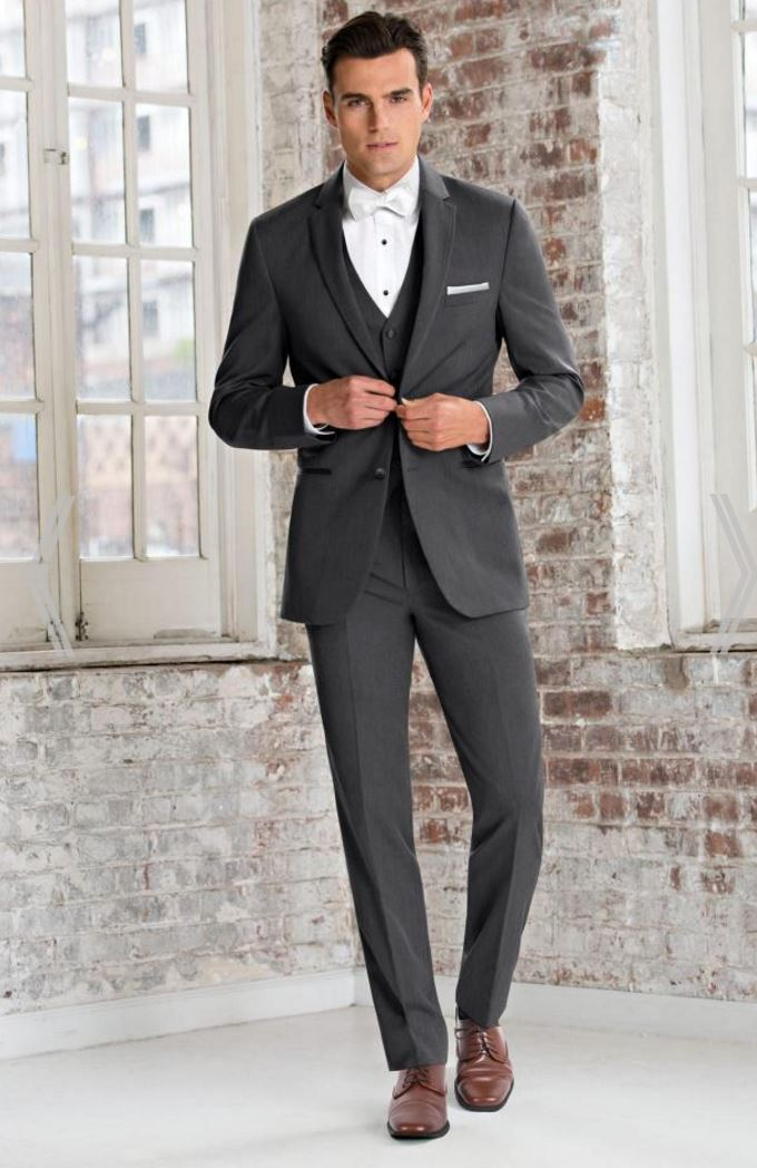 Michael Kors Grey Wedding Suit