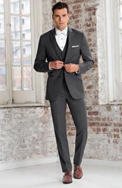 Michael Kors Grey Wedding Suit