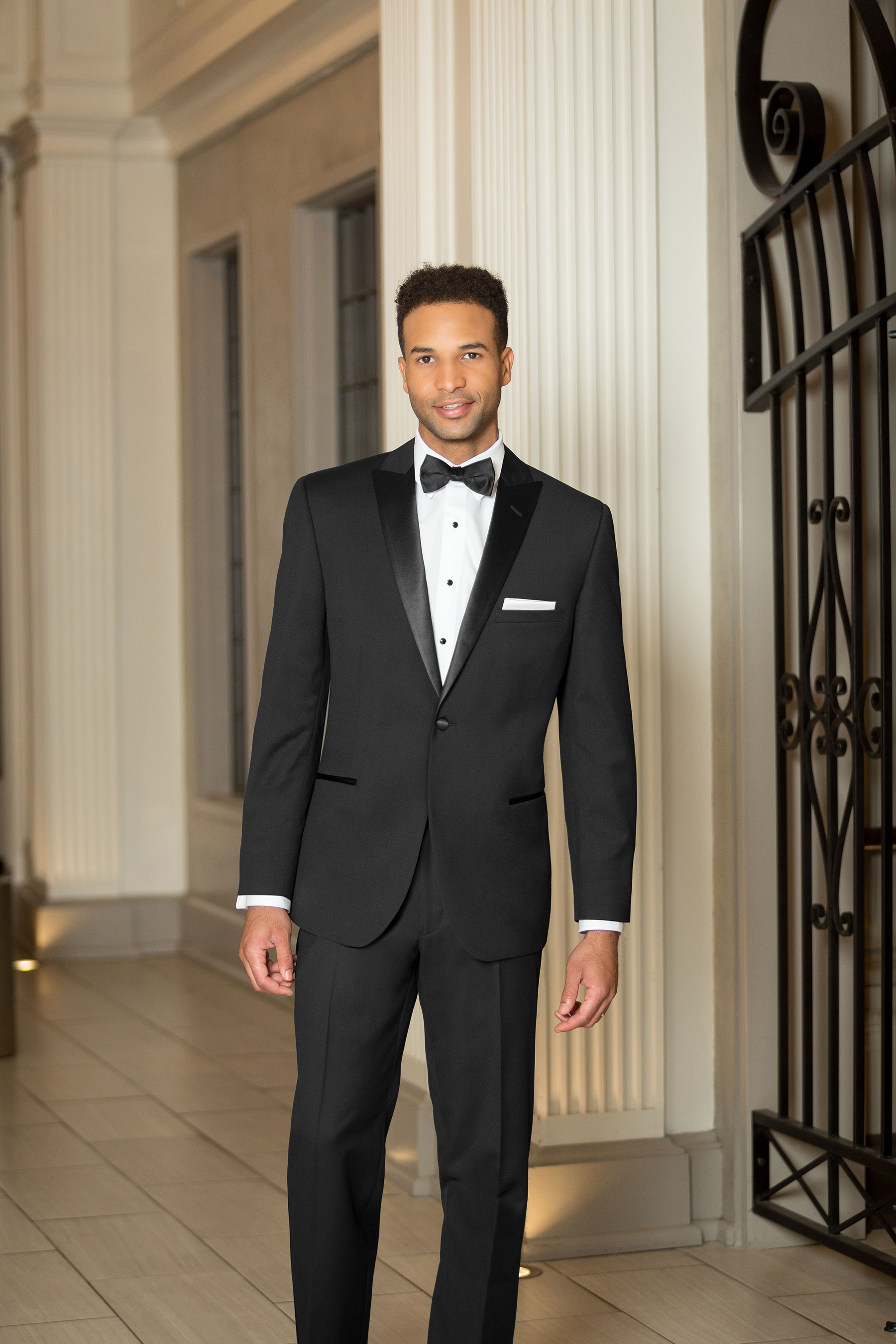 One Button Peak Tuxedo
