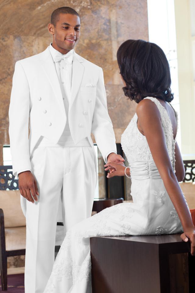 Classic White Tails Tuxedo