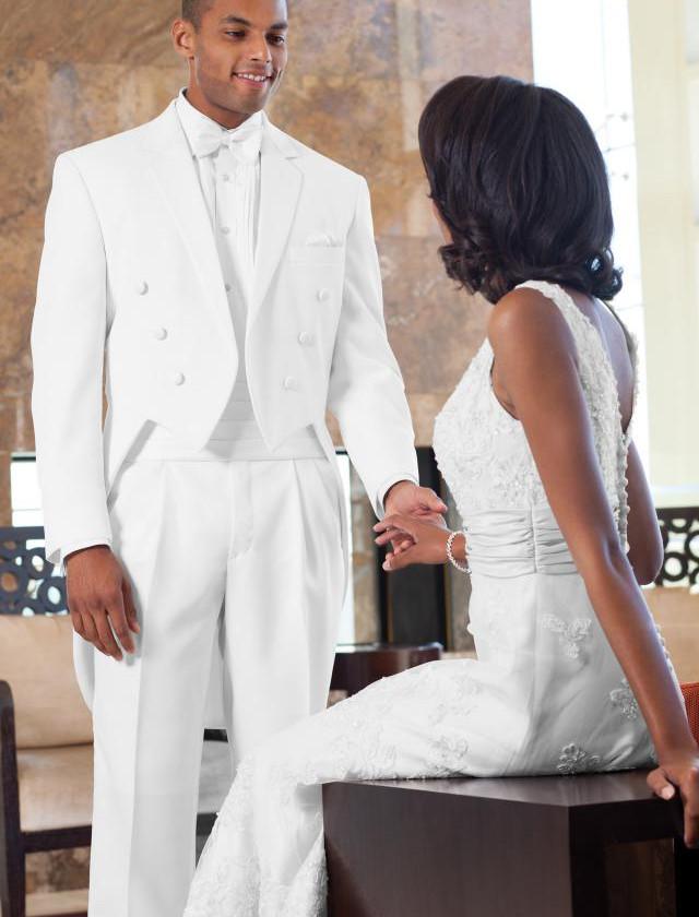 White Tuxedo Tails   Phoenix Tuxedo Rentals