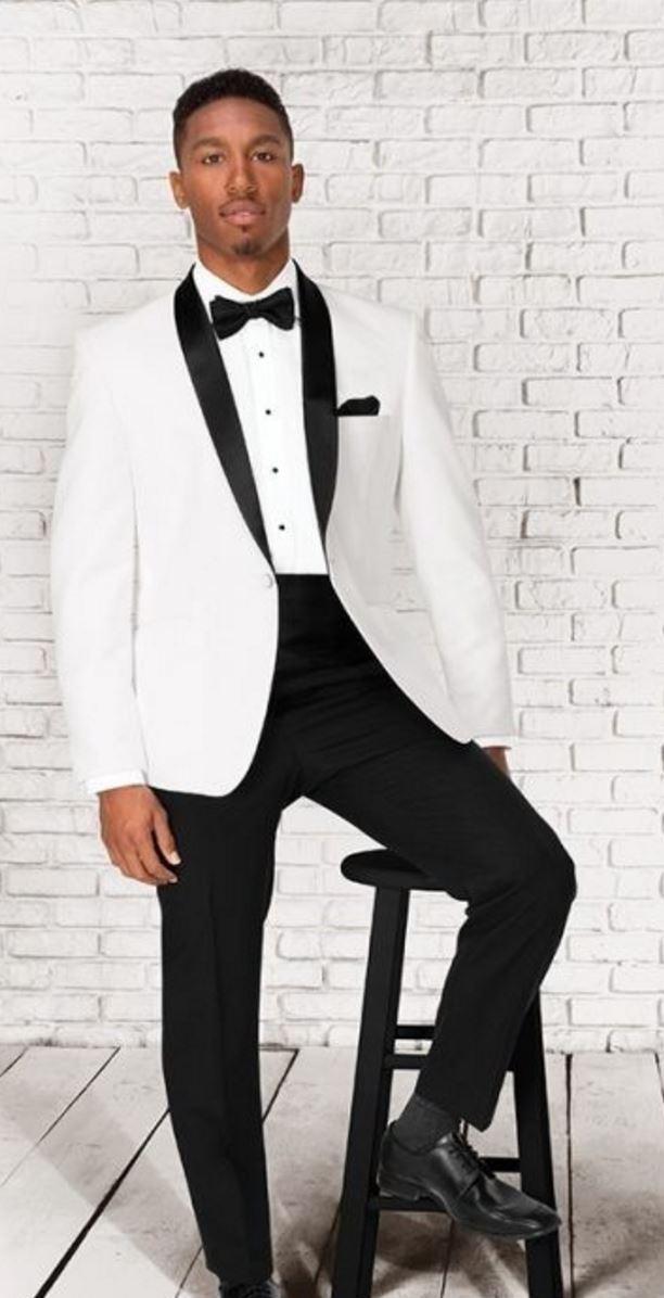 White Clayton Tuxedo