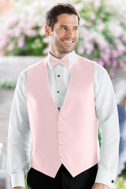 Herringbone Petal Pink Vest