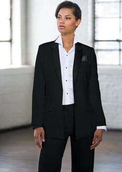 Black Peak Long Tuxedo Jacket