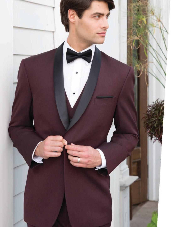 burgundy groom groomsmen rental suit tux tuxedo rent near me phoenix arizona