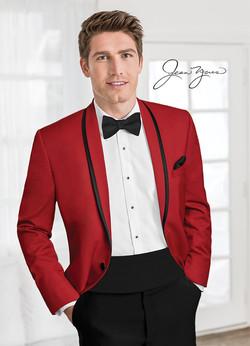 Jean Yves Red Calypso Tuxedo