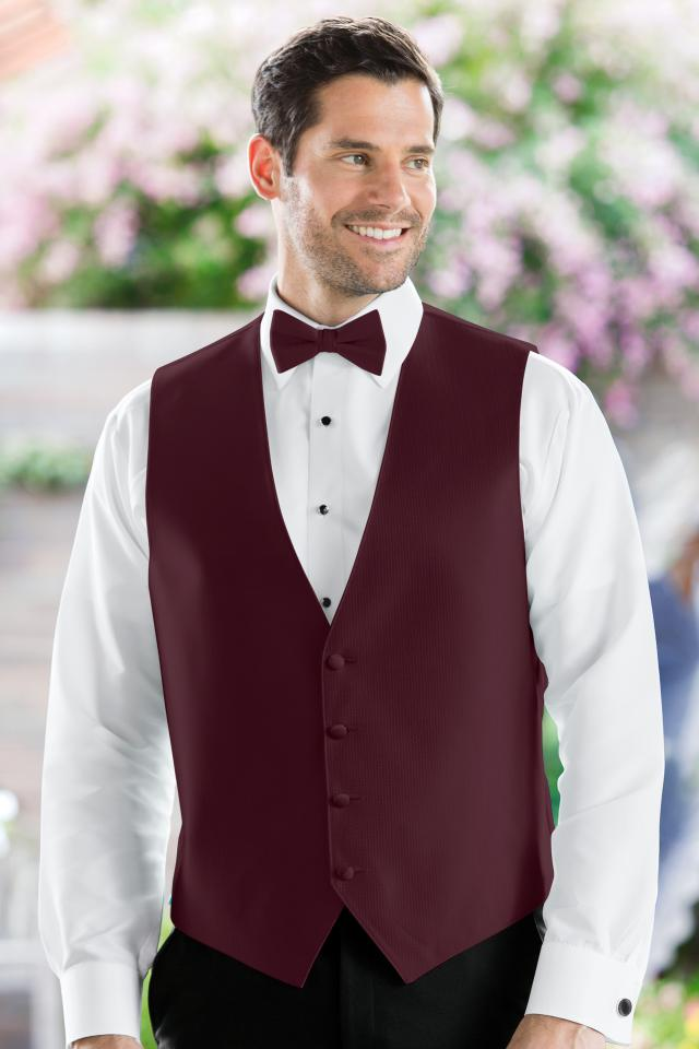 Herringbone Wine Vest