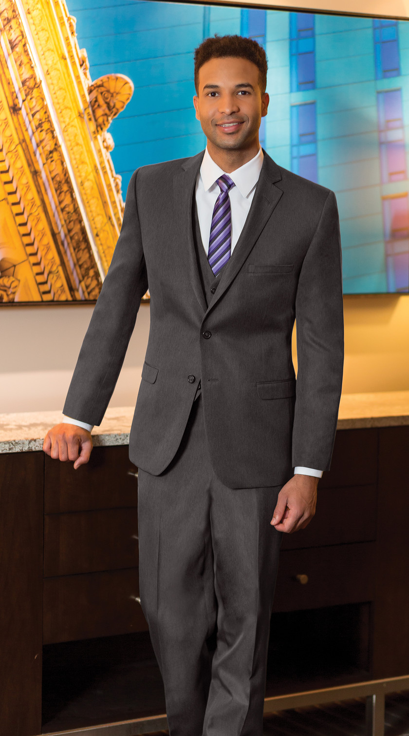 Charcoal grey suit purchase buy retail vest Phoenix Tempe Mesa Gilbert Glendale Peoria Scottsdale Arizona