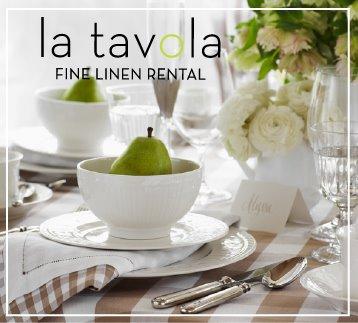 La Tavola Fine Linen Rental