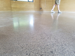 Galaxy Concrete Polishing - Polished Concrete  Matt finish Macedon 4903