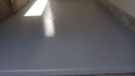 GALAXY Concrete Polishing & Grinding - Grind & Seal with Grey Coloured Sealer