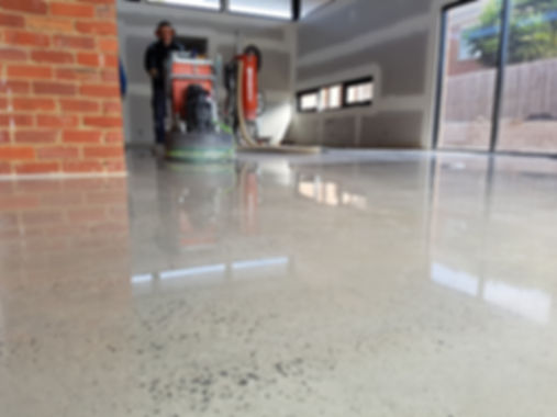 GALAXY polished concrete - Polished Concrete Gloss finish Reservoir