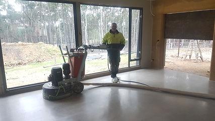 Galaxy Concrete Polishing & Grinding - Polished Concrete Matte finish