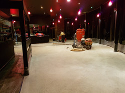 GALAXY Concrete Polishing & Grinding - Honed Polished Concrete - Melbourne Restaurant  Sunb