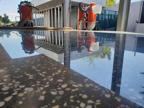 GALAXY Concrete Polishing & Grinding Melbourne - Polished Concrete Gloss finish Keilor