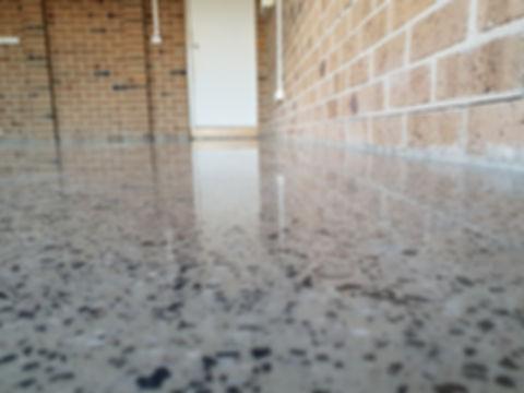 Polished Concrete - Semi Gloss Finish - GALAXY Concrete Polishing & Grinding