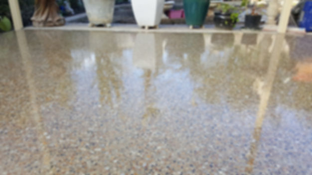 GALAXY Concrete Polishing - External Polish