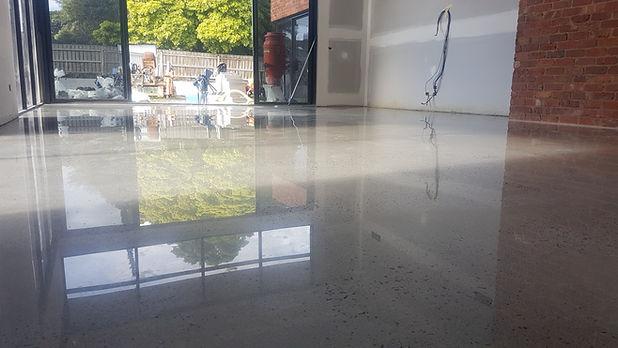GALAXY Concrete Polishing & Grinding - Polished Concrete High Gloss