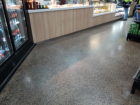 GALAXY Concrete Polishing & Grinding - Grind & Seal Retail