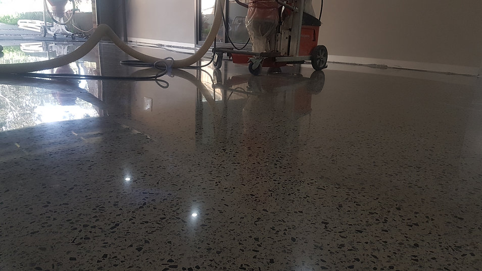 GALAXY Concrete Polishing & Grinding - Polished Concrete High Gloss