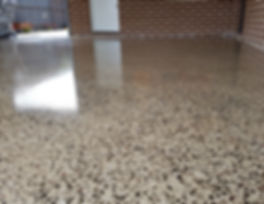GALAXY Concrete Polishing & Grinding - Grind & Seal Gloss Finish