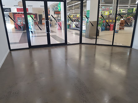 GALAXY Concrete Polishing Melbourne - Retail Grind & Seal