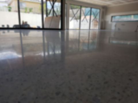 Polished Concrete Semi Gloss - Galaxy Concrete Polishing