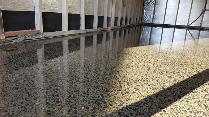 GALAXY Concrete Polishing - Polished concrete - Grind and seal