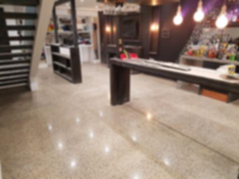 Polished Concrete Satin Finish - Galaxy Concrete Polishing Williamstown
