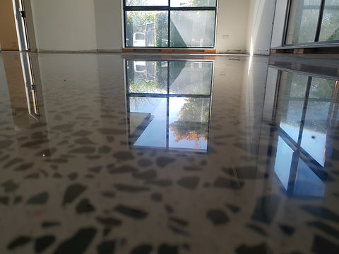 GALAXY Concrete Polishing & Grinding Melbourne - Polished Concrete Gloss Finish