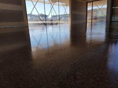 Galaxy Concrete Polishing - Grind & Seal Satin Finish
