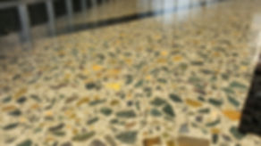 GALAXY Concrete Polishing - Polished concrete - Grind & Seal close up