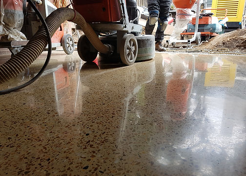 GALAXY Polished Concrete Semi Gloss finish Nth Melbourne