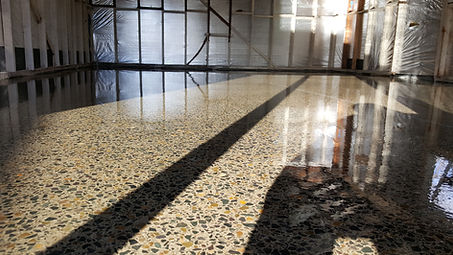 GALAXY Concrete Polishing - Polished concrete - Grind & Seal