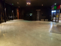 Galaxy - Polished Concrete  Matt Satin finish Depetros Restuarant Sunbury 949