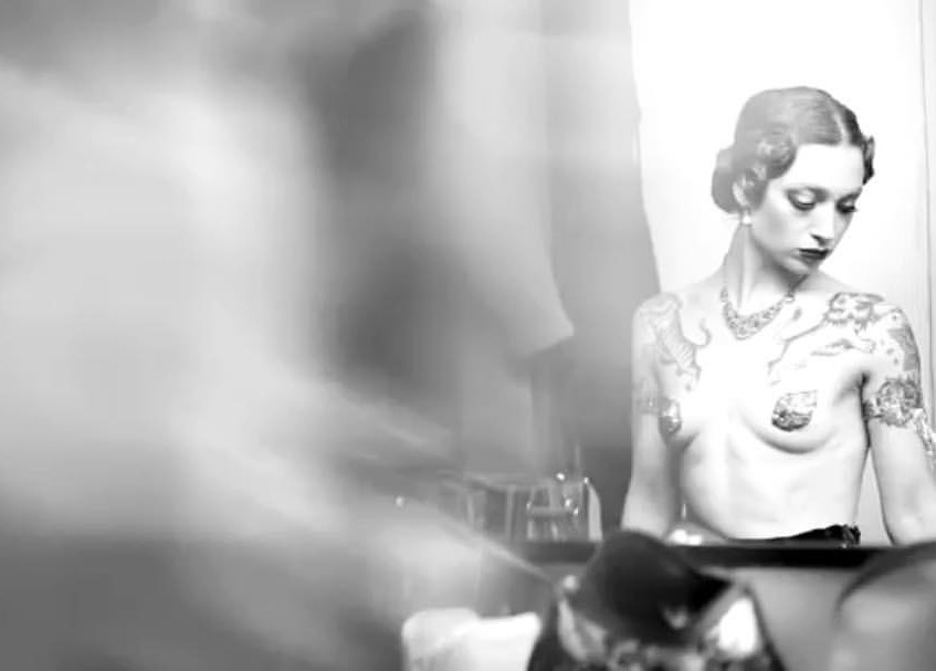 Janet Fischietto, Retro Make Up, Burlesque, Prague Burlesque, Sad Man's Tongue Rockabilly Bar & Bistro (1)