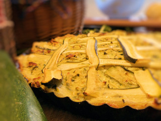 Ana Perduv's Zucchini Pie: Cooking WIth A Pin Up #1