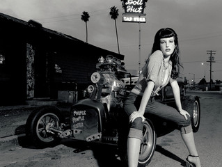 David Perry's Hot Rods and Pin Up Girls