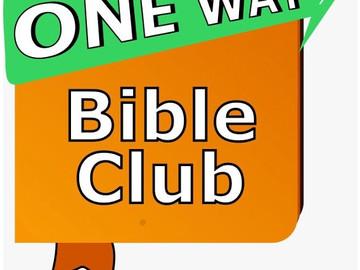 Bible Club on Mondays