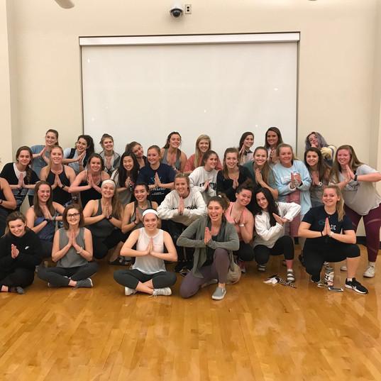 Sisterhood Sorority Event With Tri Sigma