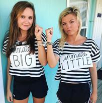 rachel (big) & whitney (little)