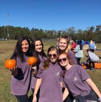 Pumpkin Smash ADPi Team