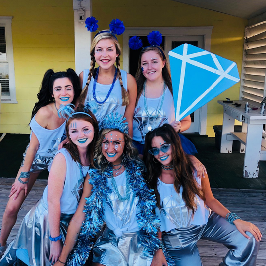 Bid Day 2018 - ADPi Theme