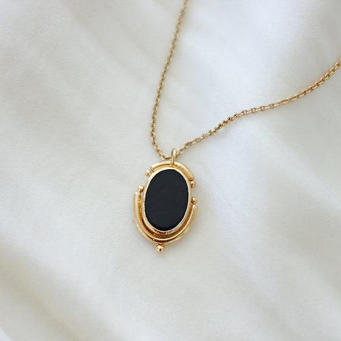 Collier Talisman Onyx