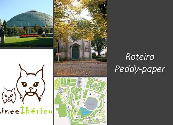 """""""Nos Jardins de um Palácio Desaparecido"""" Peddy- paper para famílias"""